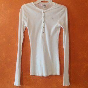 Abercrombie & Fitch Henley Sleepwear Top Sz. XL